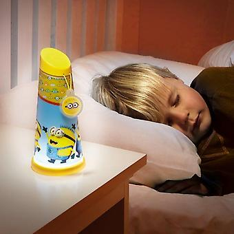 Verachtelijke Me minions nacht licht Mini zaklamp