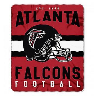Atlanta Falcons NFL Northwest Team Stripe Fleece Throw