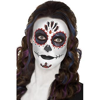 Ziua de kit de make-up mort, cu vopsele face