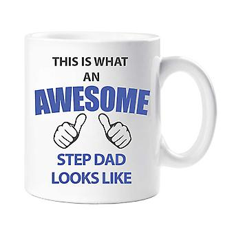 This Is What An Awesome Step Dad Looks Like Mug
