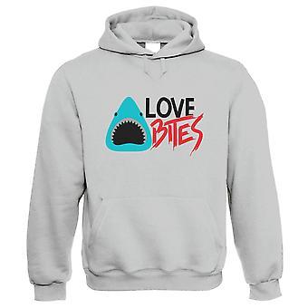 Love Shark, Hoodie - Novelty Jaws Inspiré Valentines Movie Cadeau Lui