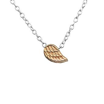Wing - 925 Sterling Silver Plain Necklaces - W17729x