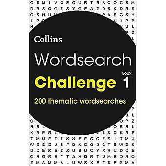 Puzzle di sfida wordsearch libro 1:200 a tema wordsearch