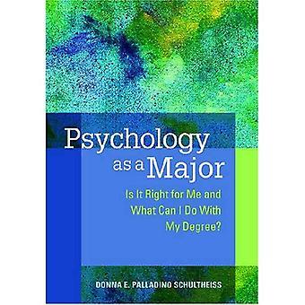 Psykologi som huvudämne: är det rätt för mig och vad kan jag göra med min examen?