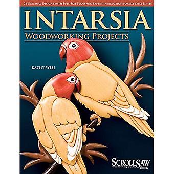 Projets de menuiserie intarsia: 21 modèles originaux avec Plans grandeur nature et Expert Instruction pour tous les niveaux de compétence (scie à chantourner bois & artisanat livre)