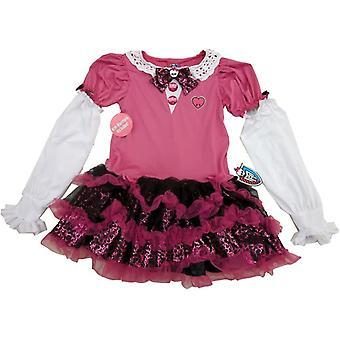 Rosa Monster High Dress Kind