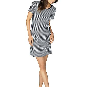 Paula Mey 11951 la femme rayé coton chemise de nuit