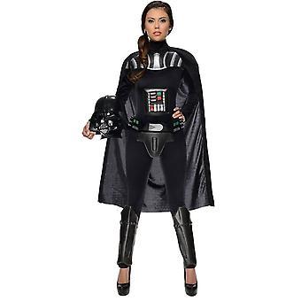 Dart Vader Star Wars Female Adult Costume