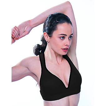 Black Sports Bra Leilani         Gym To Swim®