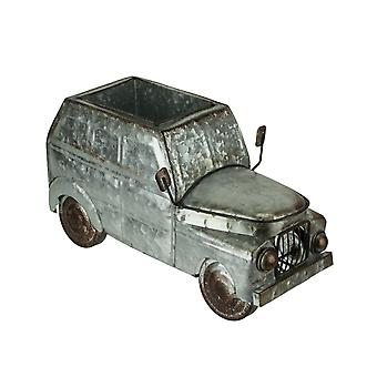 Distressed Galvanized Metal Rustic Vintage Truck Indoor/Outdoor Planter