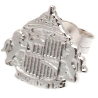 Sunderland AFC Sterling Silver Stud orecchino