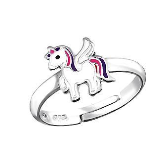 Children's Sterling Silver Unicorn Ring