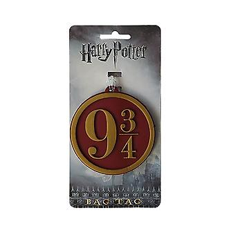 Harry Potter platform 9 3/4 Sign bagage tag