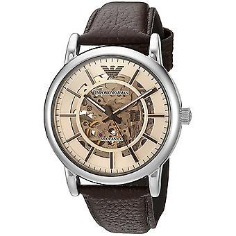 Emporio Armani Men's Ar1982 Dress Brown Leather Watch