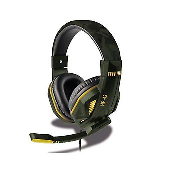 Steelplay Wired headset HP43 til PS4-Green camo
