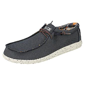 Mens Hey Dude Deck Shoes Wally Sox