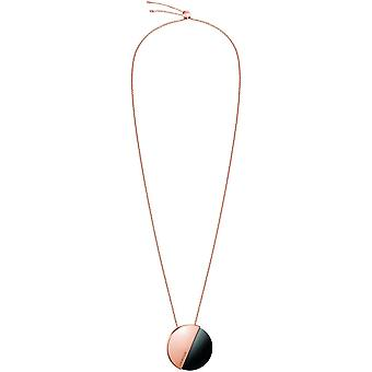 Calvin Klein Spicy Rose Gold Tone Necklace KJ8RBN140100
