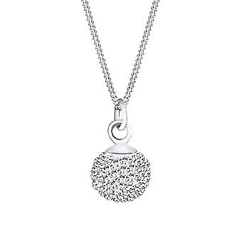 Elli Necklace with Women's Pendant in Silver 925 with Swarovski Crystals