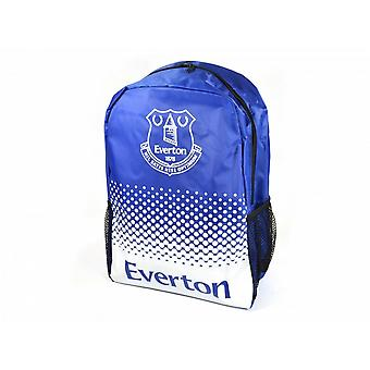 Everton FC Official Football Fade Design Backpack/Rucksack