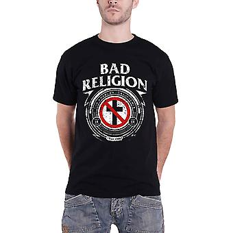 Bad Religion T skjorte merke kors LA California Band Logo offisielle Mens nye svart