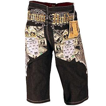Shorts Crown Holder Dollar Pantalones de Bolsillo