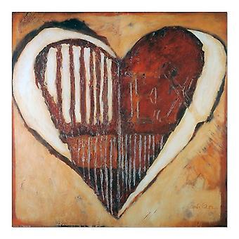 Pannello Deco, Astratto - cuore