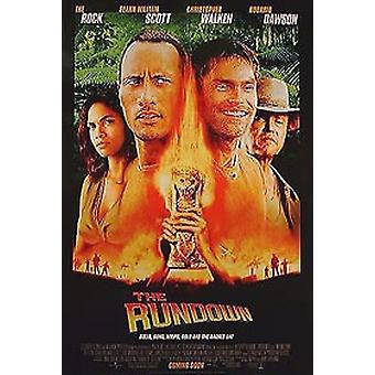 The Rundown (Double Sided Regular) Original Cinema Poster