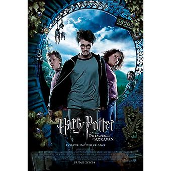 Harry Potter And The Prisoner Of Azkaban (Ds Intl Style A Uv Coated) (2004) Original Cinema Poster