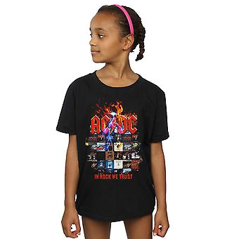 AC/DC Girls In Rock We Trust Album Cover T-Shirt
