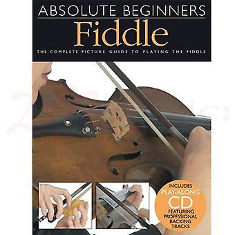 Absolute Beginners Fiddle Book & CD
