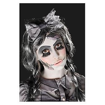 Womens beschadigd Doll Make-Up Kit (One Size)