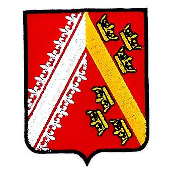 Patch Ecusson Brode Alsace Blason armen vlag regio heraldische