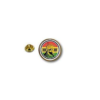 Pine PineS Pin Badge Pin-apos;s Metal Biker Motard Rasta Reggae Rastafari Lion Jah