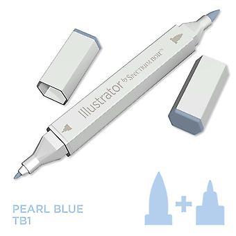 Illustrator by Spectrum Noir Single Pen - Pearl Blue