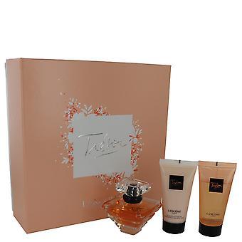 Lancome Tresor Gift Set 50ml EDP + 50ml Body Lotion + 50ml Shower Gel