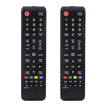 2x Universal remote control replacement Samsung HDTV LED