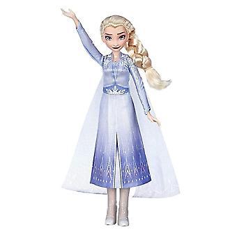 ディズニー冷凍フロスト2歌う人形エルザ歌う人形30cm