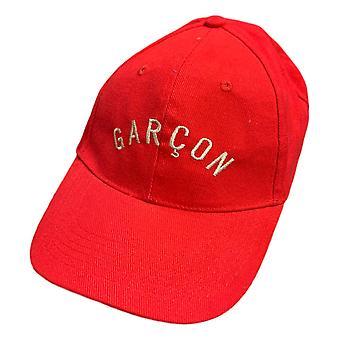 Les Garcons Faciles basebal Cap rood