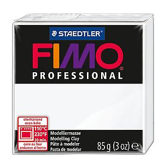 Fimo Professional Modelling Clay, White, 85 g