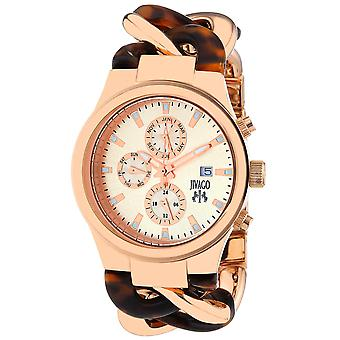 Jivago Women's Lev Rose gold Dial Watch - JV1229