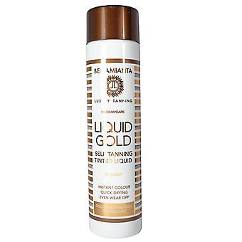 Bellamianta Liquid Gold Self Tanning Tinted Liquid 150ml