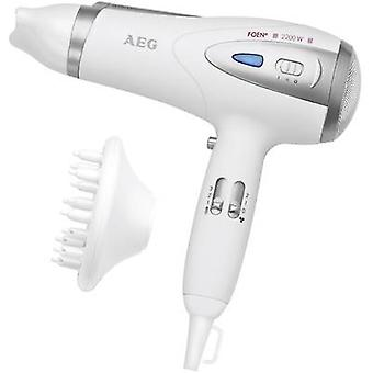 AEG HTD 5584 Hair dryer White, Silver
