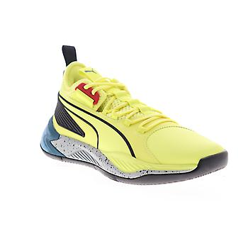 Puma Uproar Spectra  Mens Yellow Synthetic Athletic Basketball Shoes