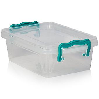 Hobby Life 1.2 Litre Micro Multi Rectangular Plastic Storage Box [multi Micro]