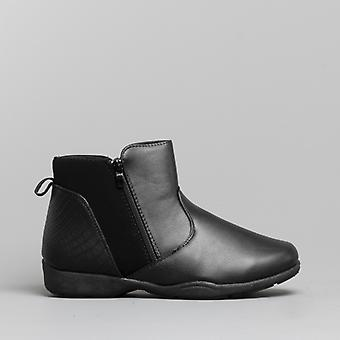 Dr Keller Shelby Ladies Ankle Boots Black