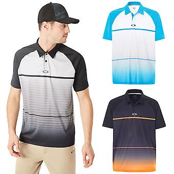 Oakley Golf Mens Moto Umidade Wicking OHydrolix Polo Shirt