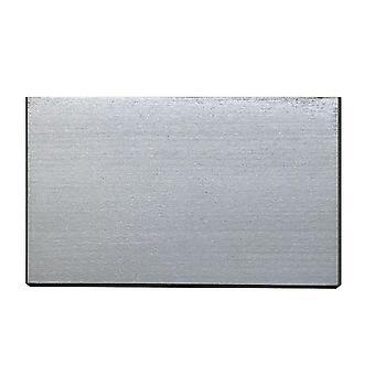 Rektangulær sølv tremøbler ben 9 cm (1 stykke)