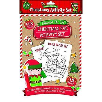 Edward The Elf Christmas Eve Activity Pack
