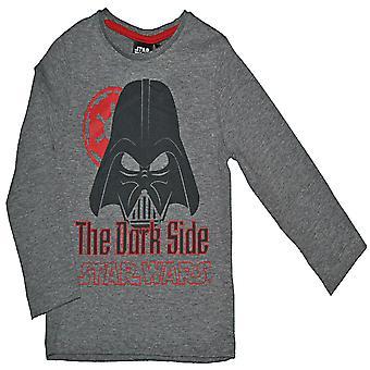 Star Wars Långärmad T-shirt - Grå 4 år