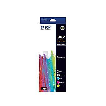 Epson 302 5-Colour Ink Pack Claria Premium